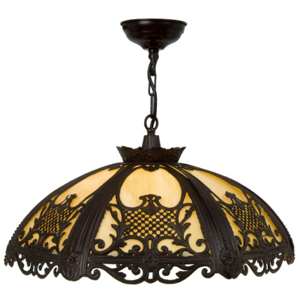 antique colonial metal pendant lighting new orleans style. Black Bedroom Furniture Sets. Home Design Ideas